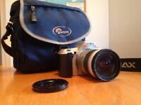 Lowe pro camera bag....with free Minolta film camera!
