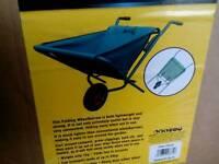 FOLDING WHEELBARROW (UNUSED STILL IN BOX)