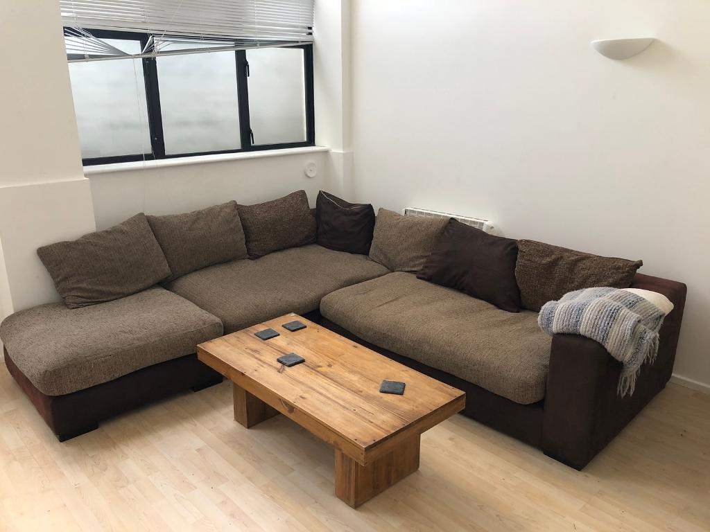 Large Comfy Corner Sofa