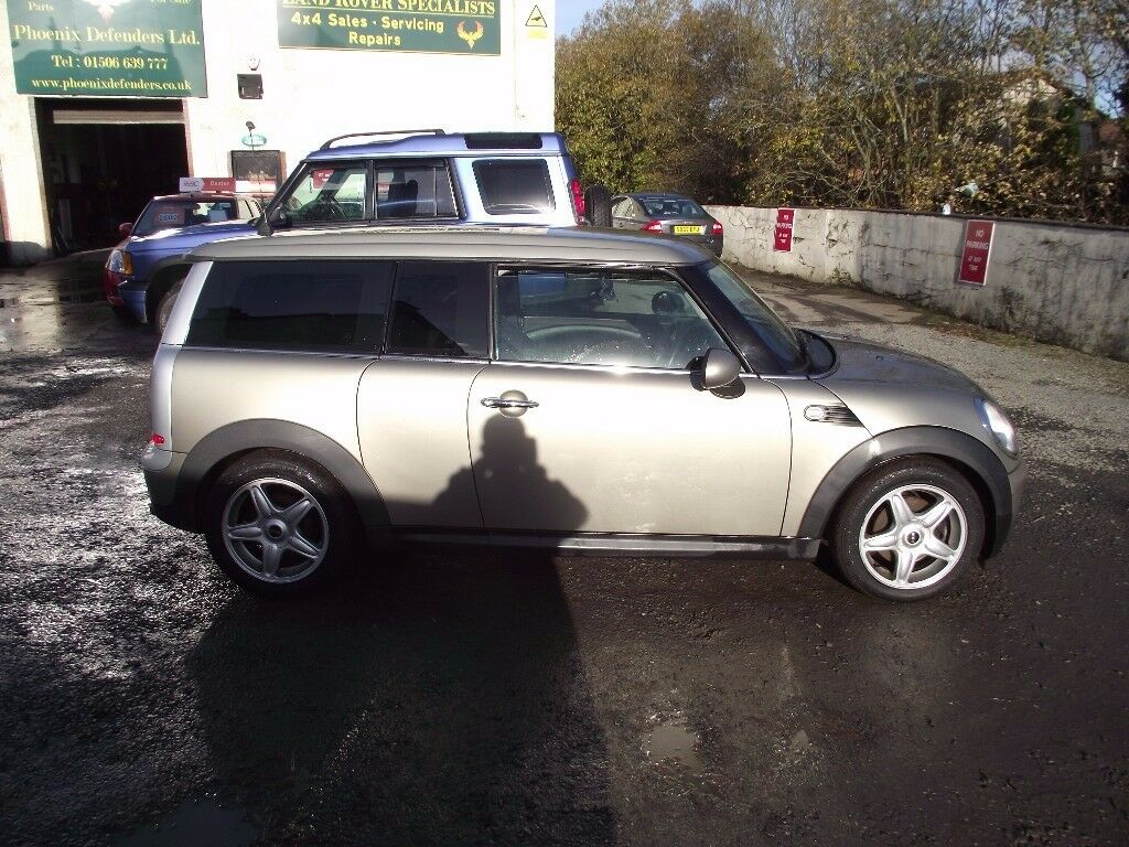 2008 MINI CLUBMAN D CHILI, LOW MILES FSH,7 STAMPS,DRIVES GREAT,£20 A YEAR ROAD TAX, MOT AUGUST 2018