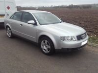 2001 Audi A4 B6 1.8 t Turbo Saloon BREAKING FOR SPARES PARTS Silver