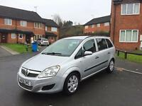 **2008 08 Reg Vauxhall Zafira Life 1.6 7 SEATER MPV Long MOT 100% Brilliant Runner Bargain**