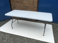Heavy Duty Folding Table Redwood Leisure 1.80m