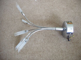 This a 5 branch with G4 halogen bulb ceiling light.
