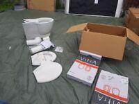 New in box Vitra wc + 2 Vitra toilet seat