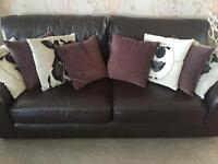 Marks and Spencer two seater sofa. Excellent condition with no marks or tears