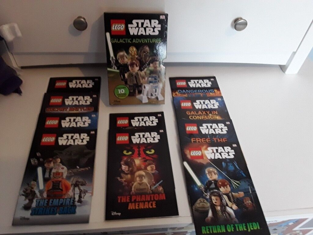Lego Star Wars Book Set Never Used In Andersonstown