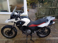 BMW G650GS ABS 2012 (White). 2 owners from new. Full-service history. Garaged.