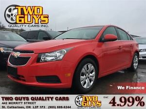 2014 Chevrolet Cruze 1LT CRUISE CONTROL NICE CLEAN CAR!!
