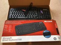 Microsoft Wired Keyboard (Model 500) - NEVER USED