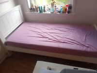 single bed and mattress very good condition