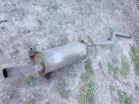 Citroen xsara picasso 2.0 exhaust cat back tdi