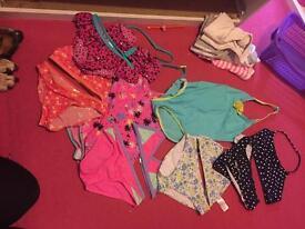 Swimwear bundle age 8-9
