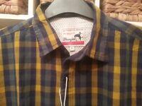 Brand New Mens Wrangler Denim Shirt