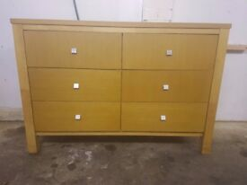 CHEST OF DRAWERS SOLID WOOD EXTRA LARGE