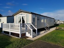 Caravan to rent at Haven Caister on sea
