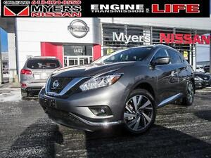 2017 Nissan Murano PLATINUM, LEATHER, ALLOY RIMS, MOONROOF, NAVI
