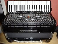 Guerrini Superior 4 120 Bass professional accordion . Re-advertised du to time waster
