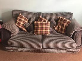 2 seater sofa and arm chair for sale or swaps