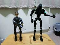 Lego Star Wars Captain Jyn Erso and K-2SO