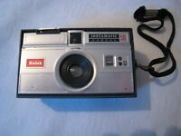 Kodak Instamatic 126 cartridge film camera