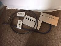 Wall Boxes and Cables for Music Studio Interconnects, 2 Sets