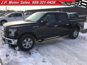 2015 Ford F-150 XLT, Crew Cab, Automatic, 4x4 Only 50, 000km