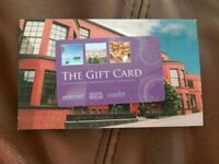 £135 gift card for over night Accommadation