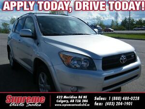 2006 Toyota RAV4 LIMITED V6 H.SEATS/ROOF/LEATHER