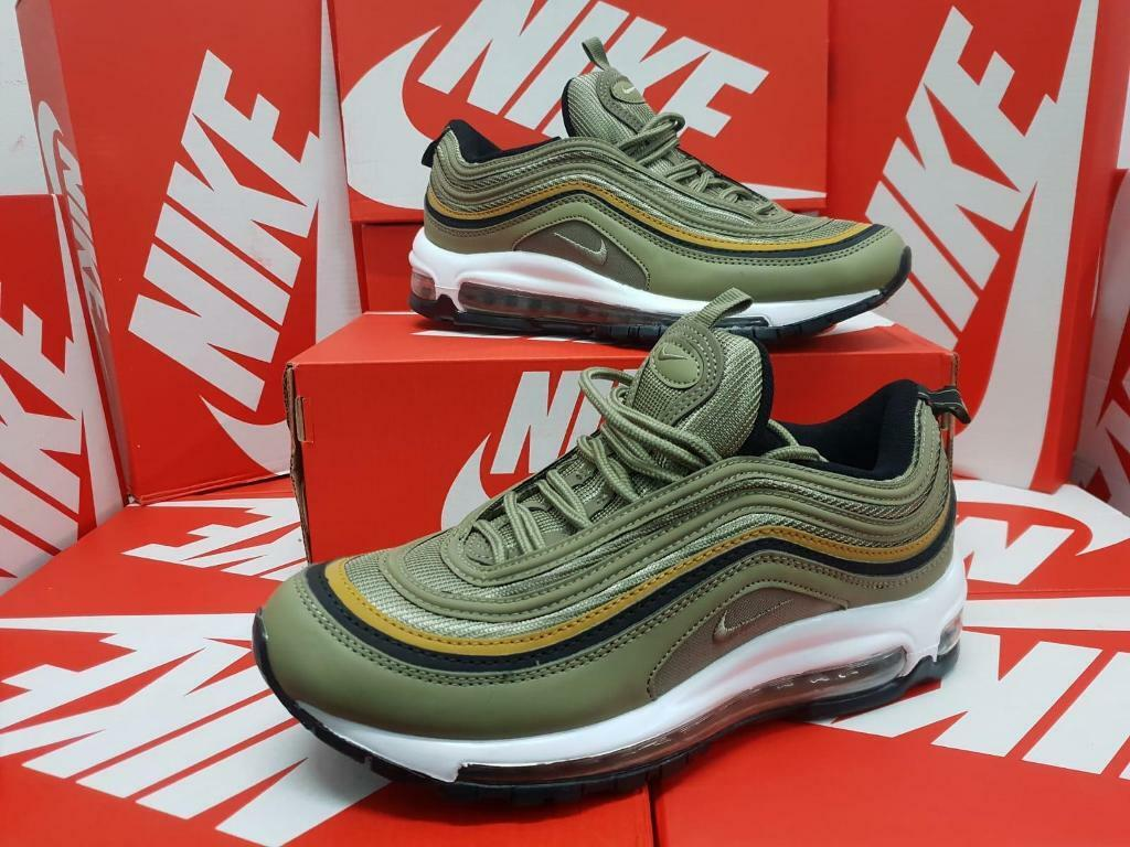 Nike Air Max 97 Pink White Yellow Green Candy Colorful