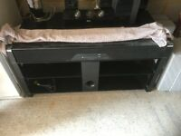 Samsung home cinema system + black glass stand in excellent condition