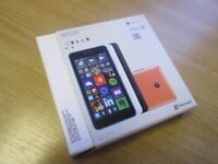 Microsoft Lumia 640 LTE mobile phone- 8GB Dual Sim - Black (Unlocked) New - D5663