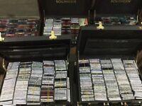 Mini discs collection