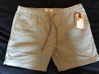 Men's Grey Chino Shorts Large