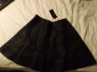 New Leather skirt size 8