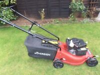 Sovereign Push Petrol Lawnmower