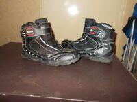 Diora 'Paddock' Motorcycle Boots (size 43/UK 9)