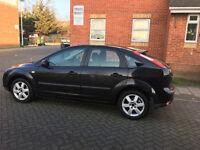 2006 ford focus 1.8 tdci diesel manual, 5 door black, 88k 12 mot, 2 owner, hpi clear 100%