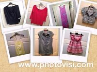 Womens size 12 summer clothes bundle - 7 mixed items