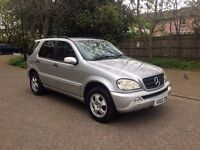 MERCEDES ML 270 CDI AUTOMATIC 7 SEATS FULL SERVICE HISTORY FULLY LOADED