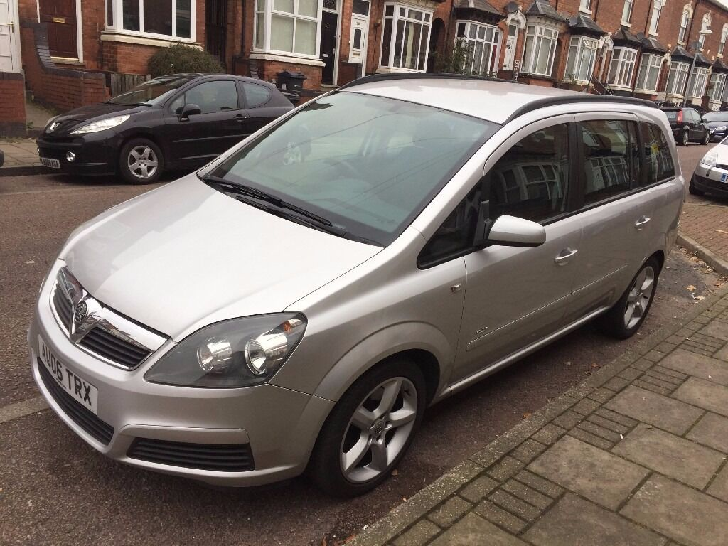 vauxhall zafira , silver , 1.9 diesel , automatic, full service history , 11 month mot , cat c
