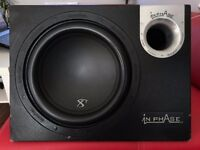 Subwoofer & Amplifier In Phase