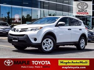 2013 Toyota RAV4 LE BACKUP CAMERA BLUETOOTH 1 OWNER