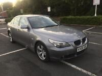 2006 BMW 525 PETROL, 5 SPEED AUTOMATIC, LOW MILEAGE, FULL LEATHER INTERIOR, 1 YEAR MOT, £2995.