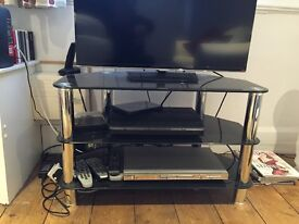 TV Stand - Glass - 3 Tier - Excellent condition - No longer required due to House Move
