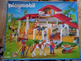 Playmobil Riding School Stables 4190