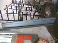 Palisade fencing 2.4m high