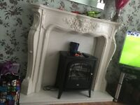 Marble fireplace quick sale £150 ONO