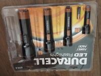 Duracell LED flashlights family 4 pack