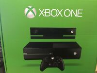 Boxed Xbox One with Kinect plus 3 games, Kinect TV Stand and Warranty